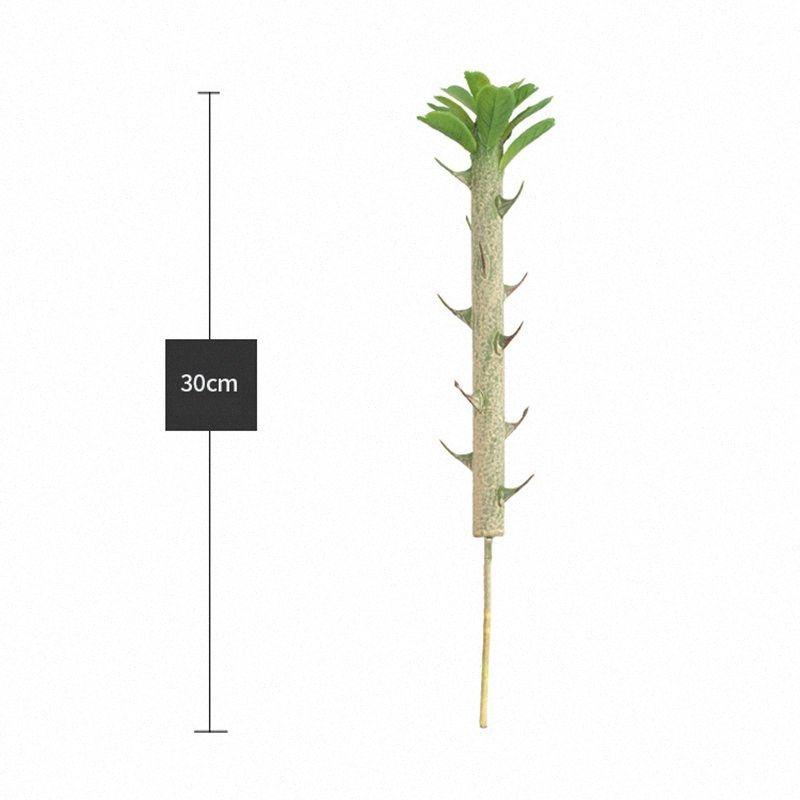 Las suculentas artificial Planta de jardín en miniatura falso Cactus DIY decoración floral JsAZ #