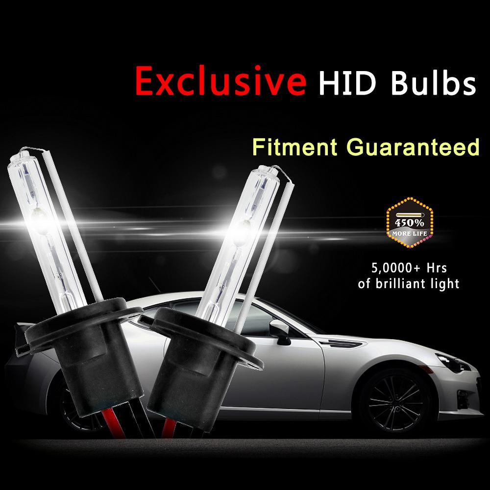 Xenon 35W DC Slim Ballast kit HID Xenon H7 Headlight bulb H1 H3 H11 h7 xenon hid kit 4300k 6000k Replace Halogen Lamp