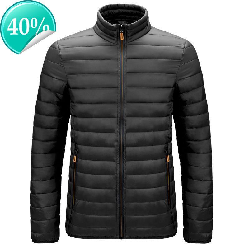 Erkekler kış sıcak açık aşağı ceket sıcak satış moda UBKJACB