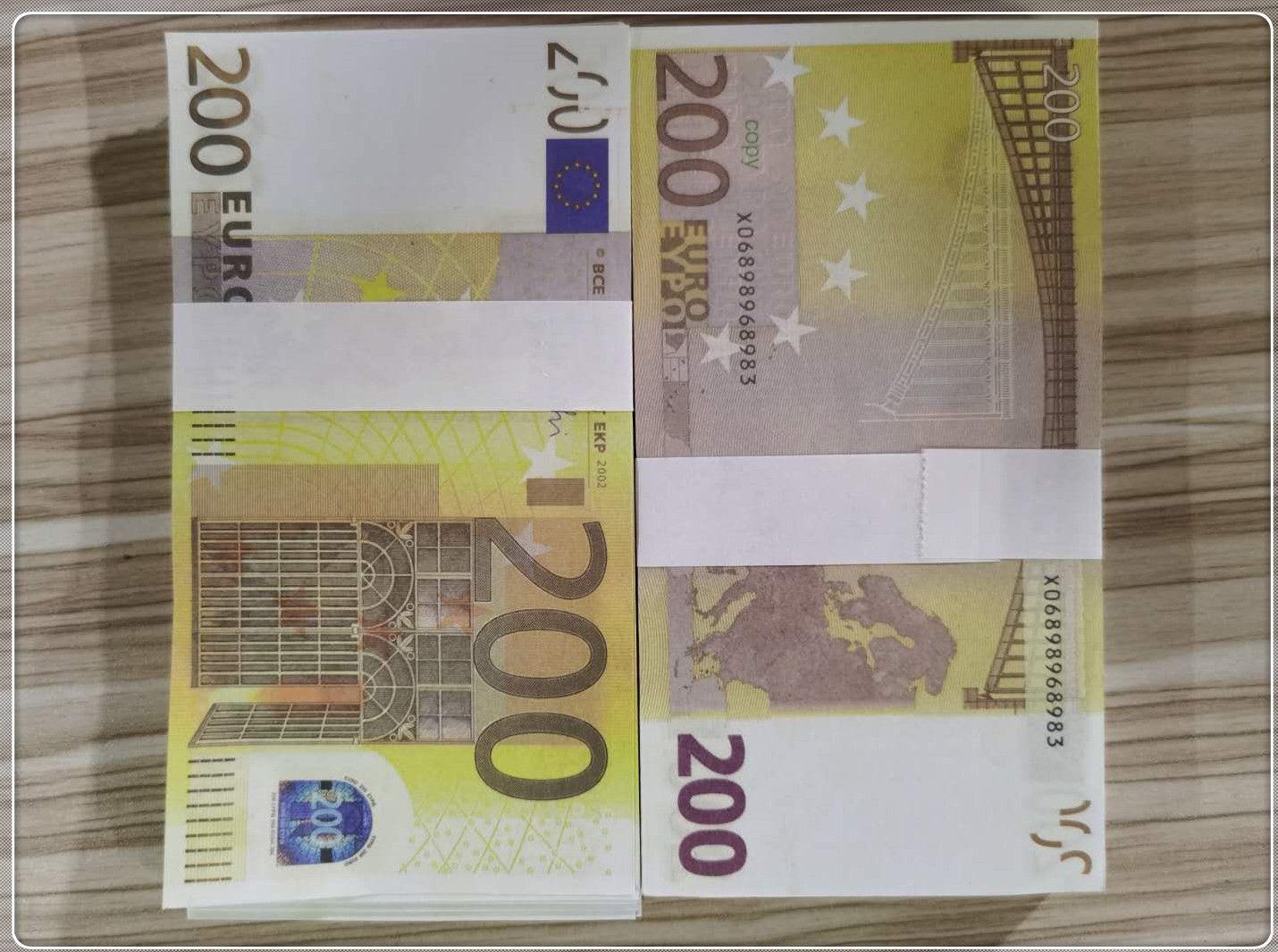 Atmosphäre Partei Neue Stütze Billet Fälschung DJVBX Geld Bühnenstange Atmosphäre Bar Euro Faux Le200-32 200 Billet IXHIM