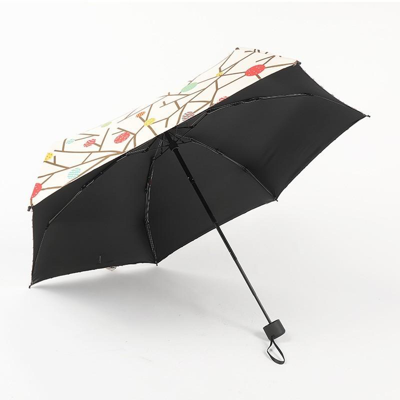 Ombrello portatile compatto mini ombrellone da fotocamera da tavolo da stampa nero colla dual scopo diy diy colore solido ombrelloni vendita calda 19 5mh k2