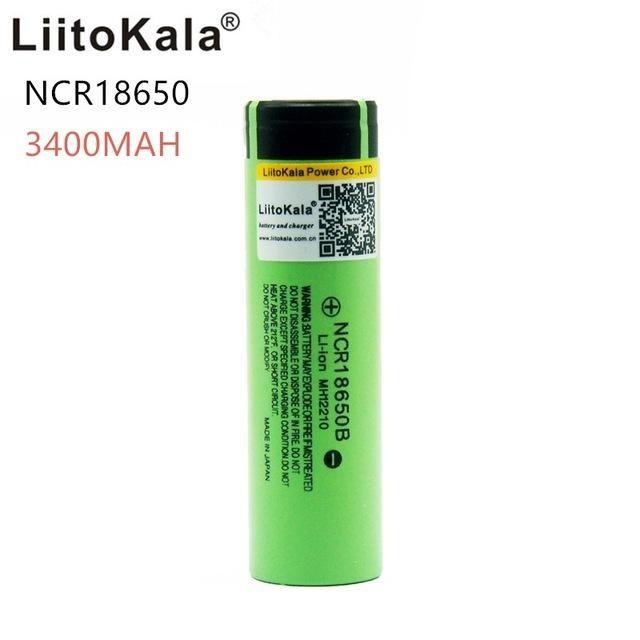 Batteries Liitokala Nouveau original 18650 NCR18650B 3400 mah batterie rechargeable Li-ion 3.7V 3400 batterie Batteries rechargeables
