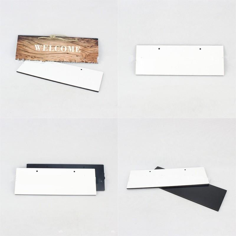 Moderna madeira pintura densidade fibreboard diy casa figurinhas placa sinal sublimação de porta em branco números de endereço caseiro moda 7 95bd g2