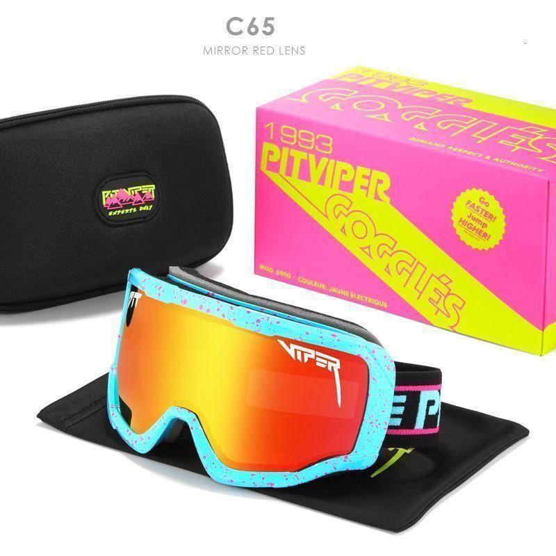 2021 90-е годы под названием Pit Viper Солнцезащитные очки Поляризованные спортивные лыжные очки оттенки 60% скидка розничная и оптовая торговля 6LJB