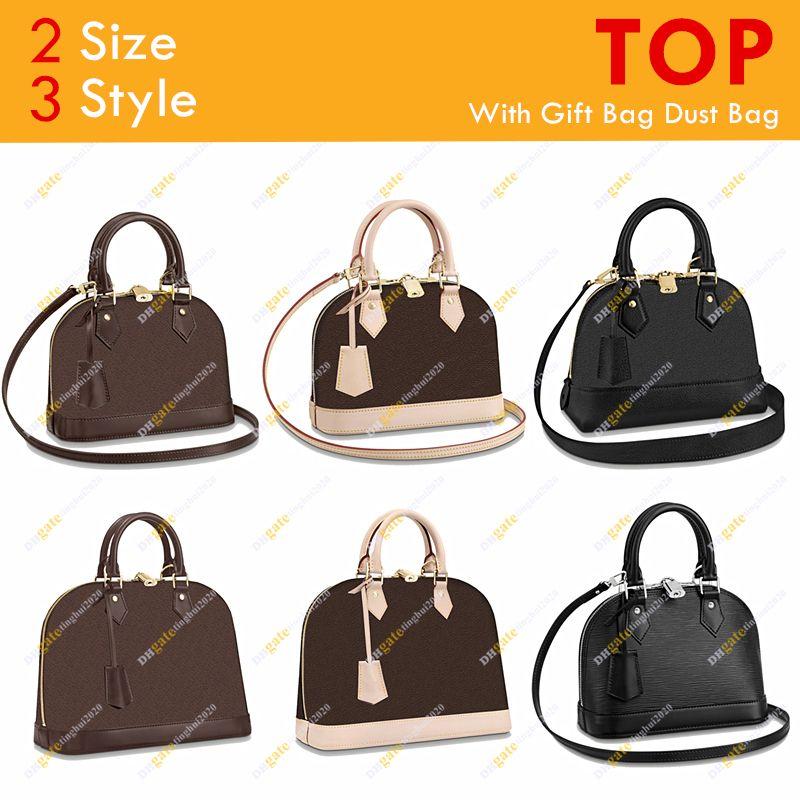 Damen Modedesigner Hohe Qualität Bb PM Shell Tasche Flowe Checkerboard Handtasche Umhängetasche M53152 M44829 2 Größe 3 Style Kostenloser Versand
