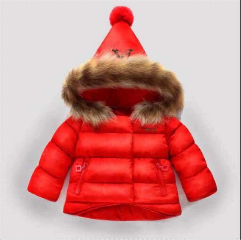 2020 çocuk giyim erkek ve kız kış sıcak kapüşonlu ceket çocuk pamuk-yastıklı aşağı ceket çocuk ceketler 1-6 yıl