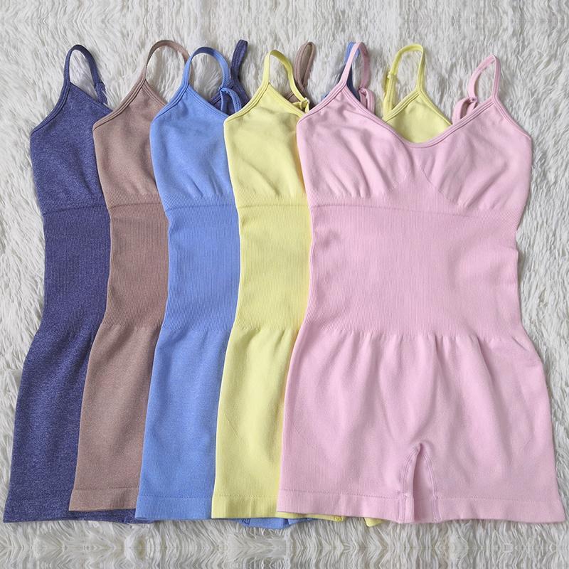 Set seamless clothing Yoga nuova delle donne di allenamento sportivo palestra un tuta piece I bicchierini regolabile Suit Bra i pagliaccetti Sport