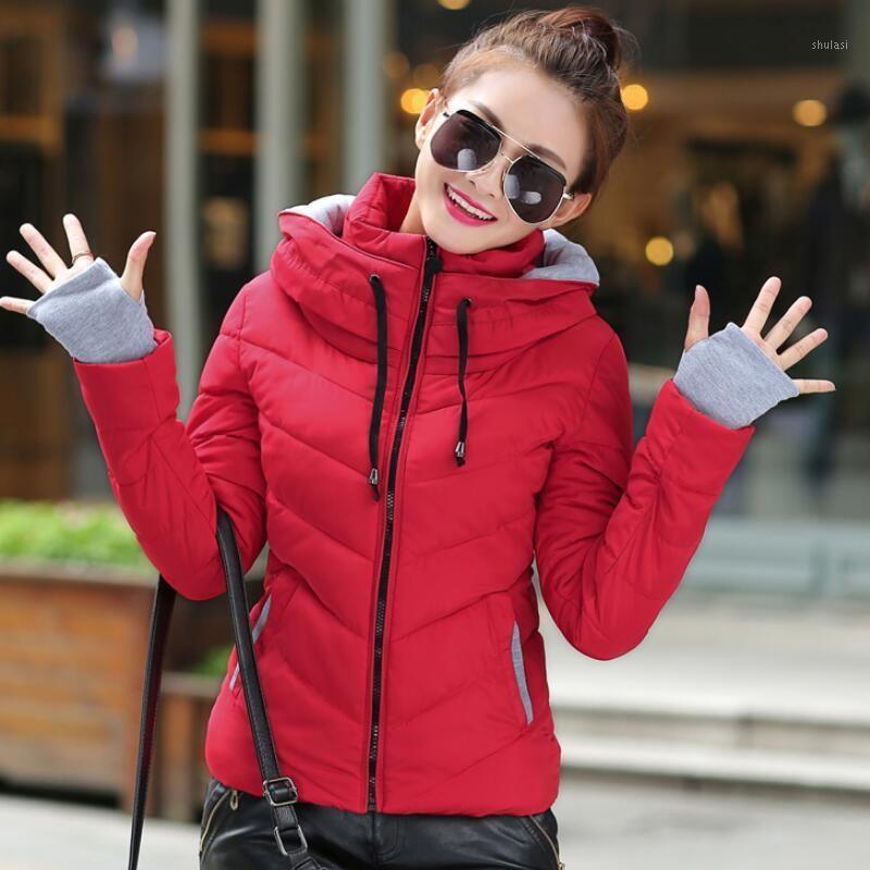 Autumn Winter Female Jacket 2019 New Winter Jacket Women Down Wadded Female Cotton-Padded Jackets short Women Coat1