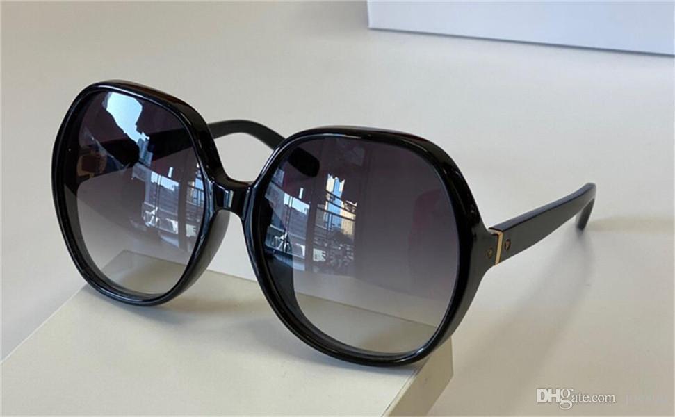 Nova Moda Design Mulher Óculos de Sol 718 Rodada Quadro Colorido Misto Simples Estilo Popular de Vendas Estilo Top Quality UV400 Óculos Protetores