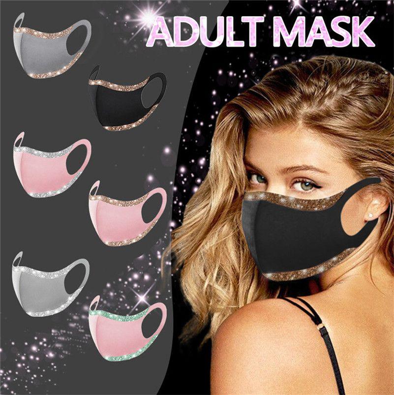 Masque de cyclisme réutilisable masque de cyclisme de mode de couleur masque de masque de masque visage de la bouche à la bouche de la bouche de la bouche anti-poussière protectrice lavable F102 Nibe
