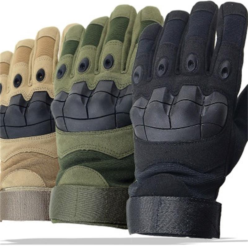 Combat Gants tactique Hommes Plein doigt Gants Camouflage Paintball SWAT soldat Tir handschoenen moufles vélo