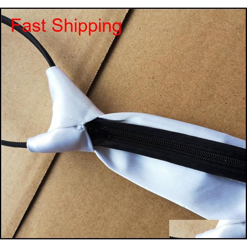 Sublimation Blanche Blanc Cravate Cravates Enfants Adulte Cravate Coeur Transfert Impression Vief Diy Consommables Custom Mate Qylmkr Homes2007