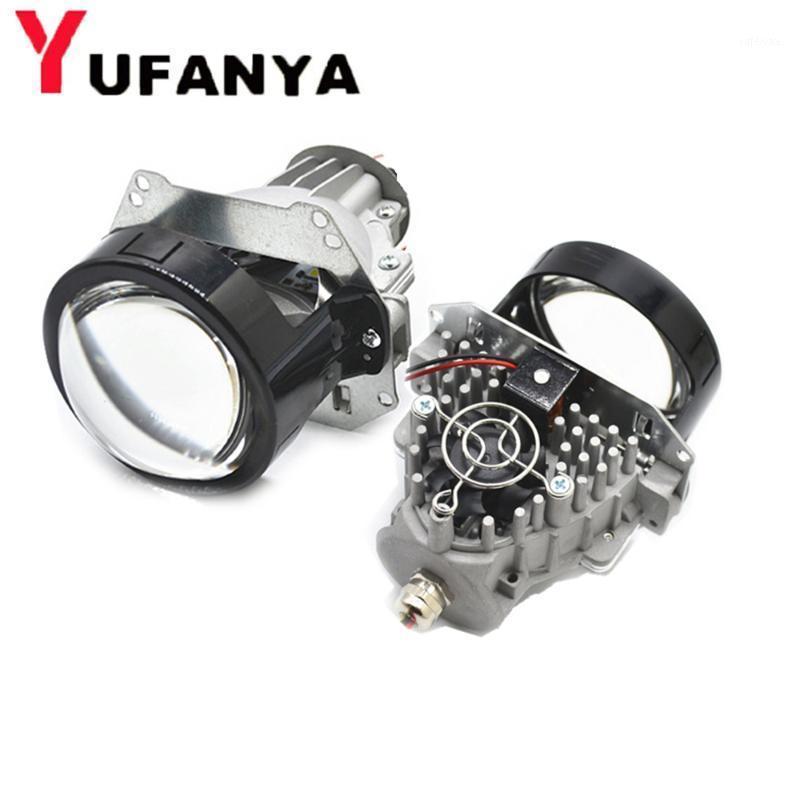 35w BI LED LED Projecteur Lentille Variage Modifier le phare Universial LED Phare haute Basse-poutre HID Xenon Lens Fit H1 H4 H7 D11