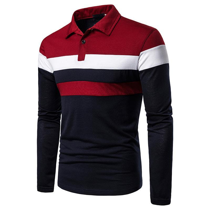 Polos luxurys мужчина одежда мода 2021 новых дизайнеров t рубашки S-2XL мужские мужчины рубашка поло мужчин s поло футболка мужская мужская одежда Chemise de luxe 123