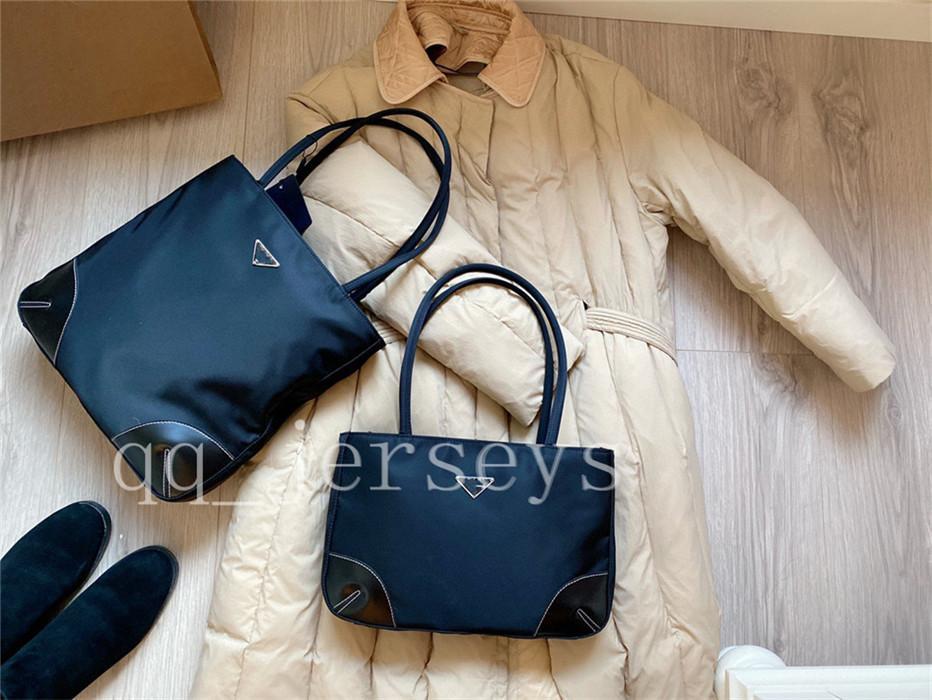 Designer di lusso di alta qualità 2021 Nuova Semplice Semplice Femmina Grande Capacità One-Shoes Moda Borsa in tela Oxford Panno stampato Borsa Borsa