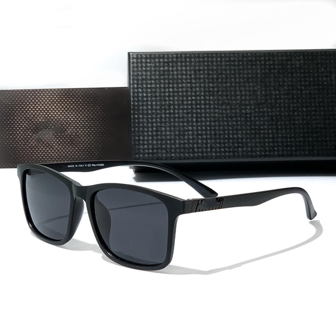 النظارات الشمسية بأربع ألوان كلاسيك للرجال والنساء المصممين الفضي جودة عالية القيادة النظارات الاستقطابية 1908