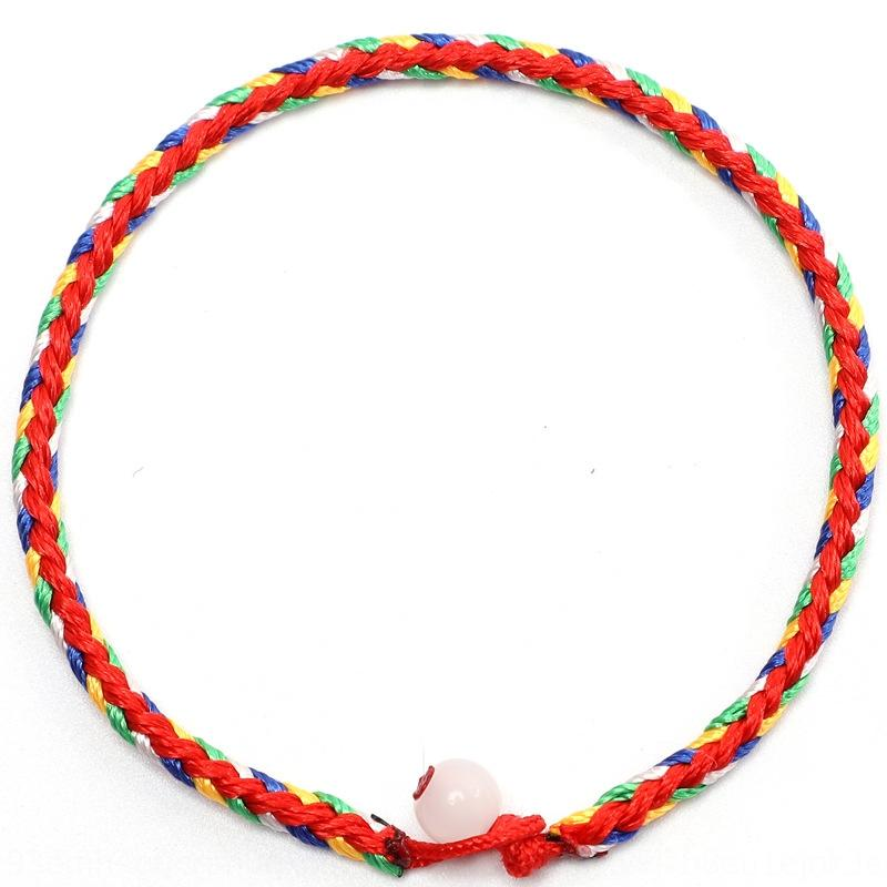 sc4RN Dragon Boat Festival красочной одного шарика браслета красочного шарика рука онлайна цвета веревка браслет цветой веревка магазин горячие продавать подарки s