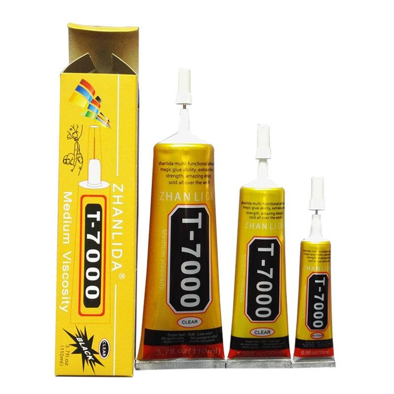 15ml T-7000 Glue T7000 Multi Purpose Glue Adhesive Epoxy Resin Repair Cell Phone LCD Touch Screen Super Glue T 7000