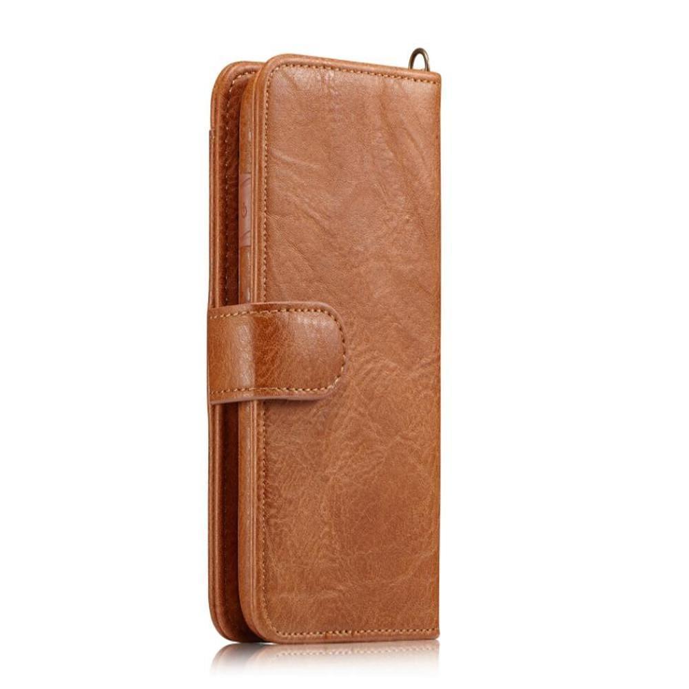 Convient pour iPhone 12 XS XR téléphone portable cas, carte magnétique côté stockage, protection de luxe en cuir PU téléphone mobile pour Galaxy Note 10