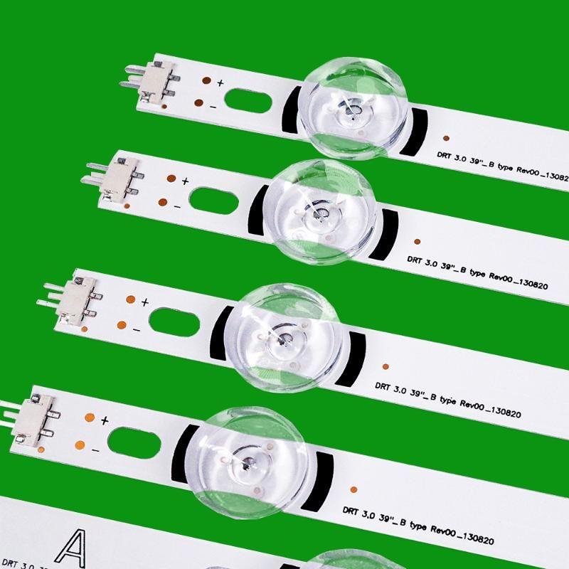 """Computer Cables & Connectors 8pcs X LED Backlight Strip For LG TV 390HVJ01 Lnnotek Drt 3.0 39"""" 39LB5610 39LB561V 39LB5800 39LB561F DRT3.0 39"""