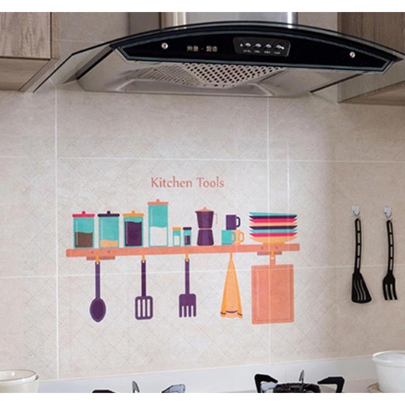 Cozinha impermeável adesivos de parede Papel à prova de óleo auto-adesivo alta temperatura anti-óleo adesivos home fogão telha w jllotq hairjeiro