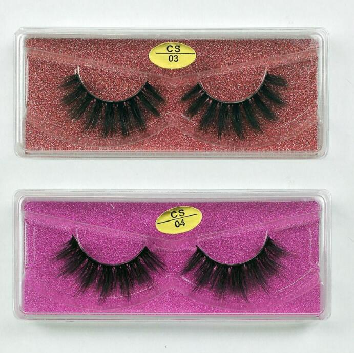 Mink Eyelashes Bulk Wholesale 10 styles 3d Mink Lashes Pack Natural Thick False Eyelashes Handmade Makeup False Lashes In Bulk2021pop