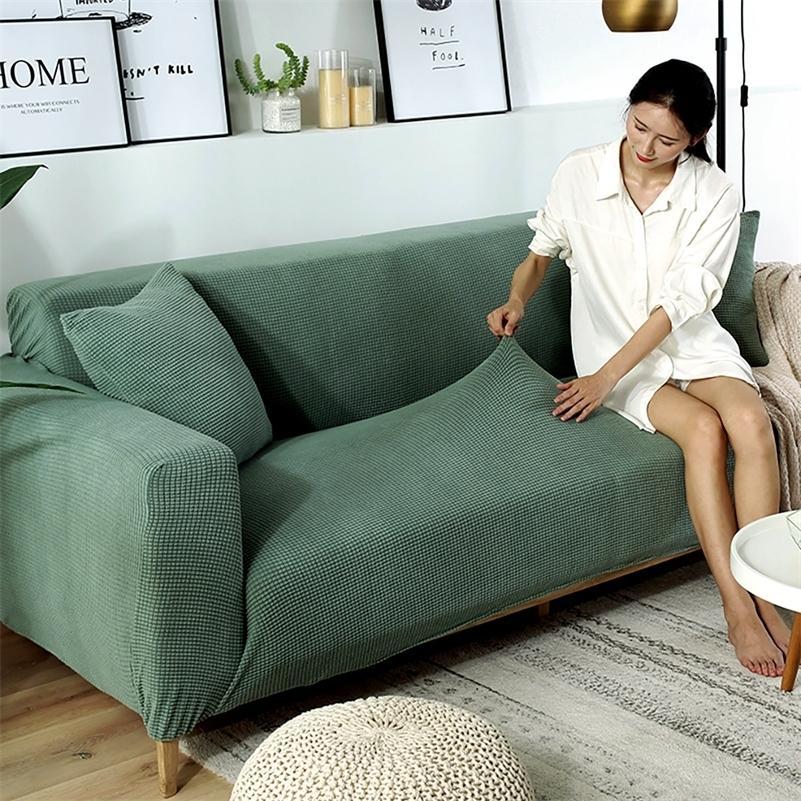 Новый натяжной диван чехол Наскал чехол для упругих всеобъемлющих диван для разной формы диван Loveseat стул L-стиль диван чехол LJ201216
