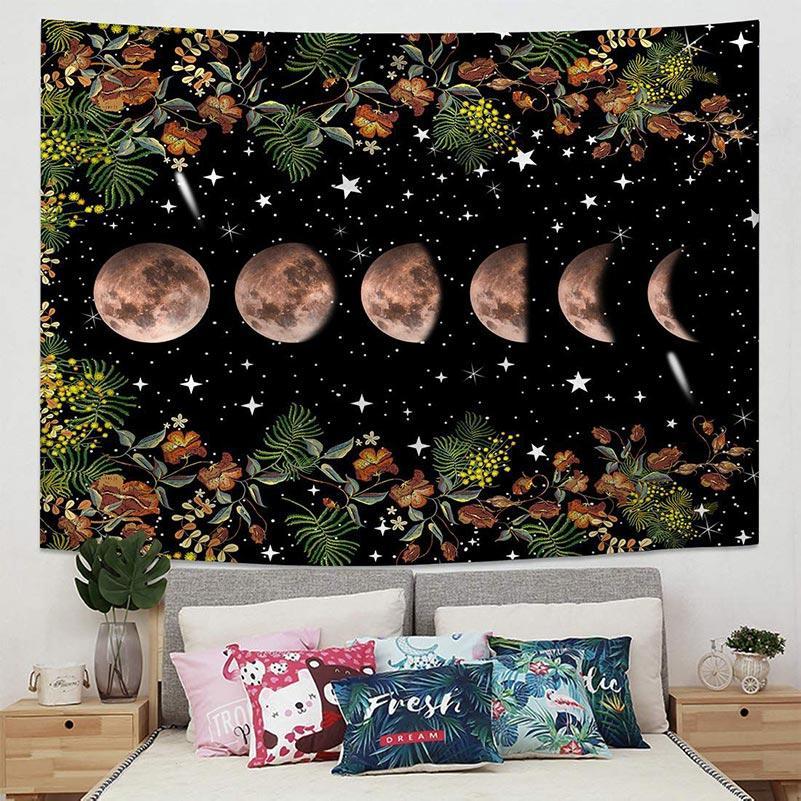 Новое искусство висит ткань живой комнаты проката отдельных украшений стены ткань из общежития спальня прикроватная гобелен DHL бесплатно