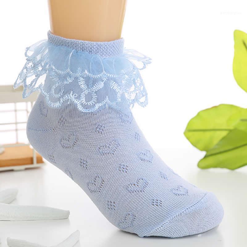 2020 baby algodón calcetines de cordón niño verano verano calcetines de malla princesa niña algodón estaciones de bota corta ropa de fiesta infantil1