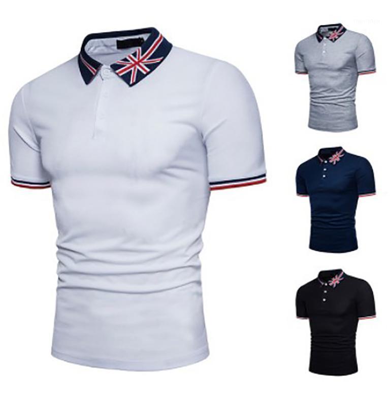 Männer sommer hemd 2021 marke männer mode baumwolle kurze hülse shirts männlich fester jersey atmungsaktive tops tee1 polos