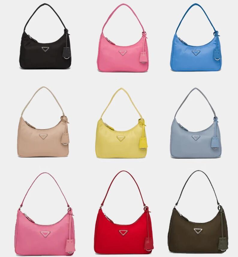 Todos los colores de estilo mujer bolsos bolsos Lady Subvarm Bag Nylon Fashion Bolsos de un solo hombro de la calidad Totes de las mujeres de la mejor calidad