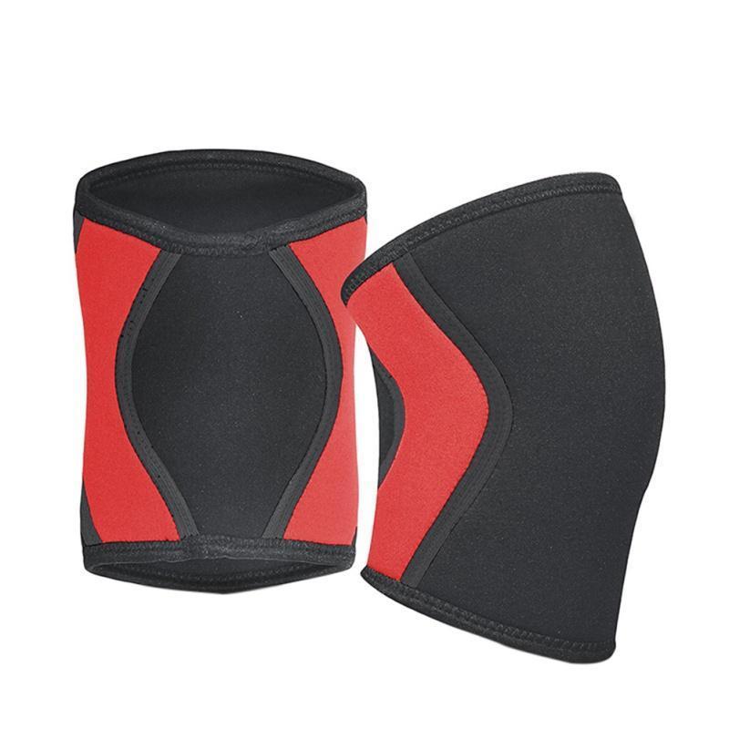 Fitness Gym Training Training Squats Genouillères Protecteur Protecteur Support de genou Sports 7mm Compression Crossfit Crossfit Crossfit Crossfit Plaquettes de haltéroplement