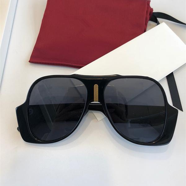 Kadınlar için 0785 S Güneş Gözlüğü Popüler Moda Yaz Stil Ile Büyük Tam Çerçeve En Kaliteli 0785 Güneş Gözlüğü UV Koruma Lens Vaka ile Gel