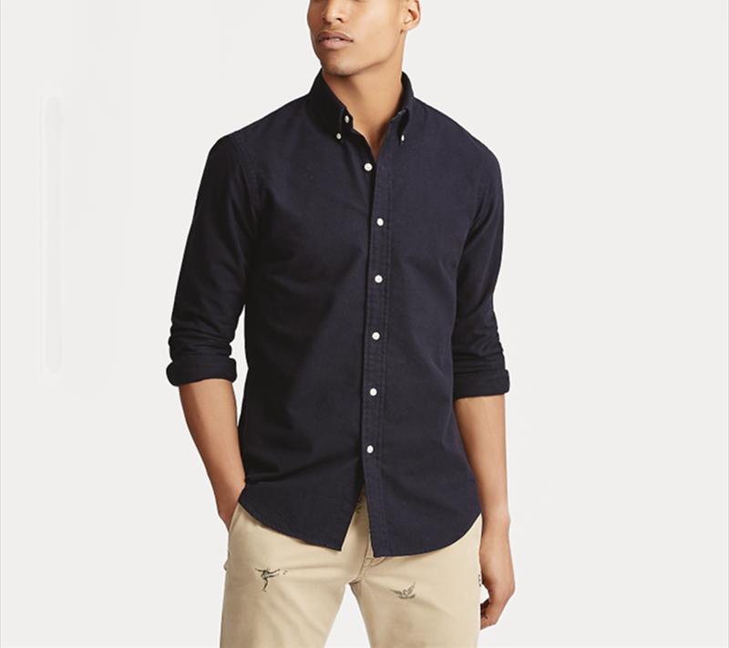 Мужские повседневные рубашки Homme небольшое высокое качество100% хлопок Camisa Masculina мужчины с длинным рукавом платье моды Hombre Chemises1