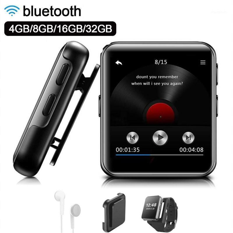 Mini Clip MP3 Player bluetooth with 1.54 Inch Touch Screen Portable MP3 Music Player HiFi Metal Audio with FM for Running1