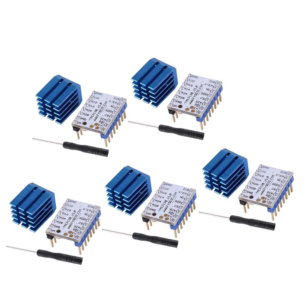5 조각 3D 프린터 스테퍼 모터 드라이버 모듈 TMC2130 스테퍼 모터 드라이버