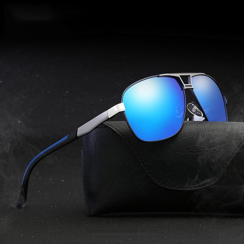 Sol in alluminio Guida uomo occhiali da sole Sun de maschio sole polarizzato oculos wd0857 occhiali occhiali per uomo masculino kiqcr