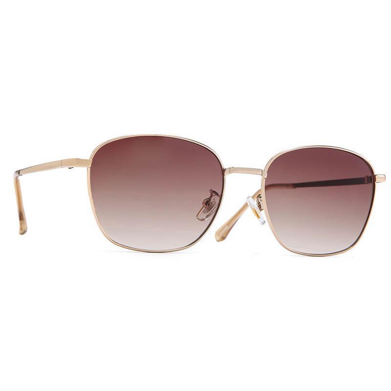 Stile metal telaio per occhiali da sole donne uomini occhiali da uomo sfumature vintage occhiali da sole estate club all'aperto retrò quadrato di lusso 16037df rlsnu