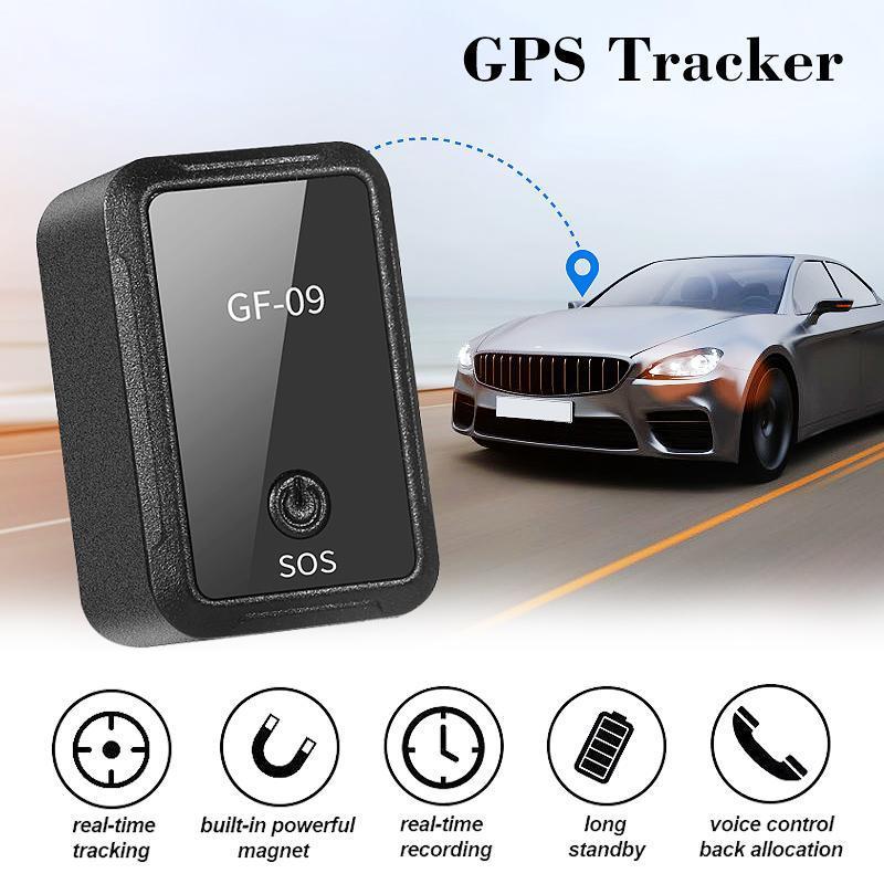 Neue Mini-GPS-lange Standby-magnetische Vorrichtung SOS-Tracking für Träger / Auto / Person Ort APP Steuerung Tracker Locator System GF-09