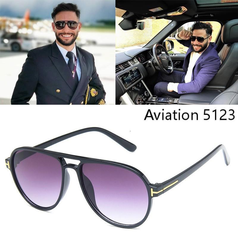 DPZ 2020 Classic Vintage Retro Pilot Style T Metal Sunglasses Men Women Fashion Brand Design Sun Glasses UV400