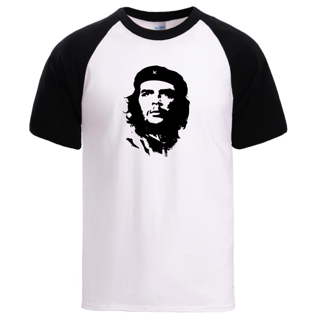 sport Che Guevara herói T-shirts Mens Hip Hop Verão cobre camisas T 2020 New Arrival algodão de manga curta T Sportswear Masculino Raglan