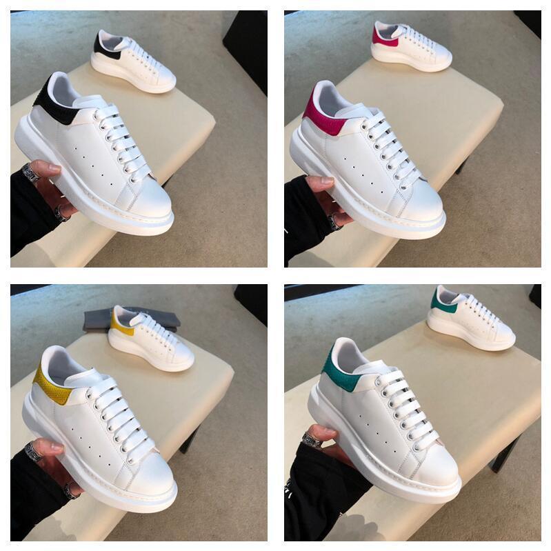 New Designer Männer Freizeitschuhe Günstige Best High Qualität Männer und Damenmode Fashion Casual Schuhe Party Platform Schuhe Samt Chaussures