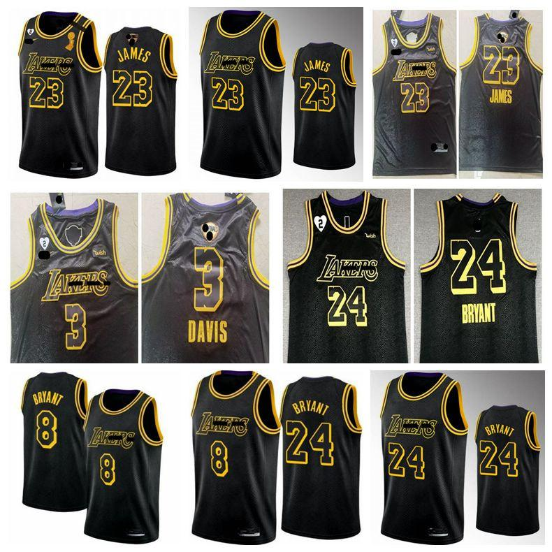 2020 2021 Men Kids LeBron 23 James Los Angeles Lakers Kobe ...