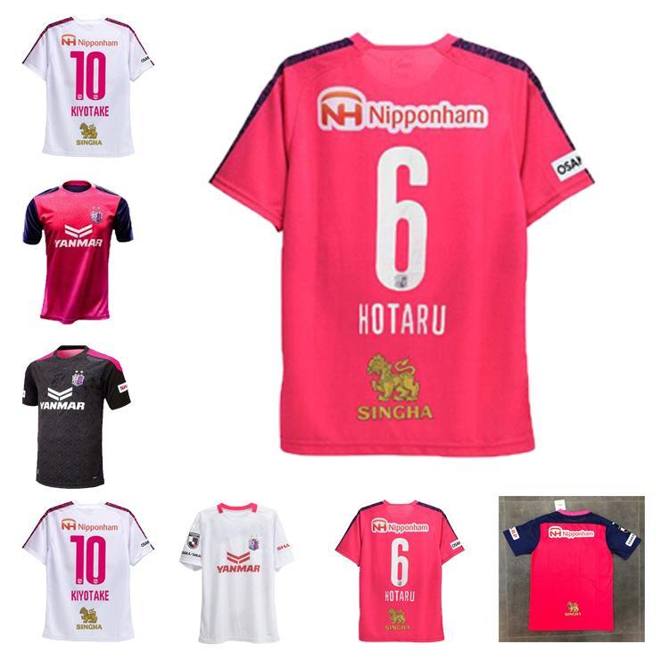 Novo J1 League 2020 Cerezo Osaka Jersey Hotaru Kiyotake Camisas de futebol Tokura Jonjic Eliere Barbosa Uniforme Camisa Cerezo Osaka