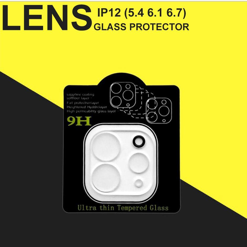 الزجاج المقسى عدسة حامي آيفون 13 12 ميني برو ماكس فون 11 XR XS ماكس كاميرا الهاتف واقية الزجاج فيلم مع صندوق البيع بالتجزئة