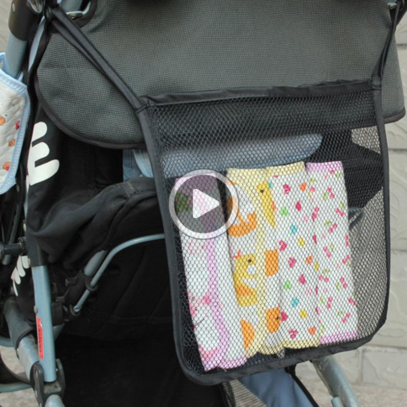 LIO2 Baby Дети Mesh Пеленки сумки Органайзер для Младенческая коляски Корзина Acssories подгузник штабелеры хранения сумка Бесплатная доставка