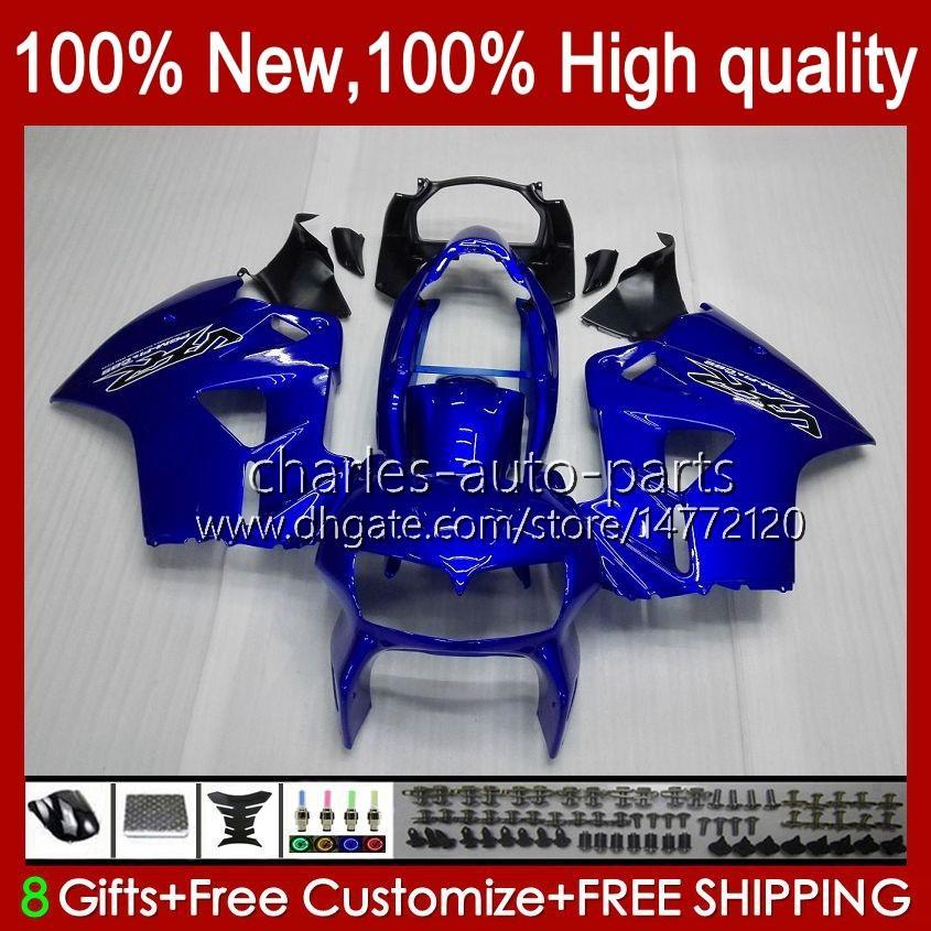 Bodys voor Honda Interceptor VFR800RR 1998 1999 2000 2001 Full Blue Nieuwe Carrosserie 99HC.26 VFR800R VFR 800RR 800 RR VFR800 98 99 00 01 FUNLING