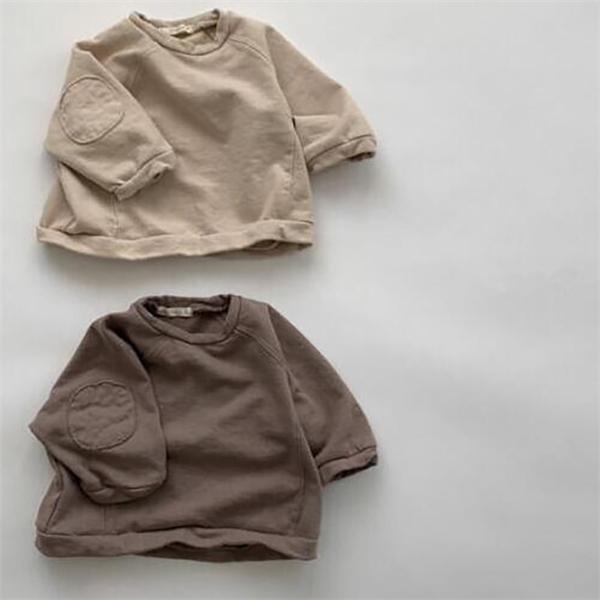 MILANCEL 2020 niños del otoño sudaderas muchachas de la manga llena sudaderas con capucha ropa de los muchachos causales niñas equipar 1006