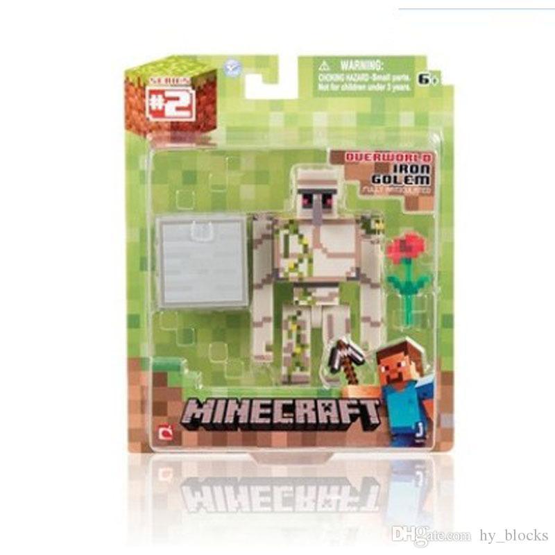 Creeper Mine Minecraft Bulmaca Montaj Tuğla Adam Modeli Ghast Ona Yapı Taşları Minifig Oyuncaklar Çocuklar Için Noel Boy Hediye