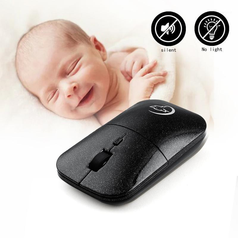 Mouse sem fio mouse ajustável design ergonômico negócio botão de viagem mini computador portátil silencioso pc gamer desktop1